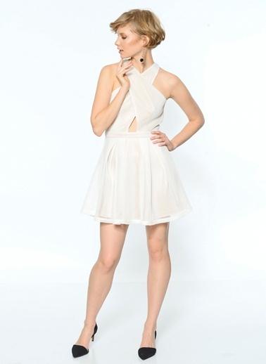 Girl In Mind Elbise Beyaz